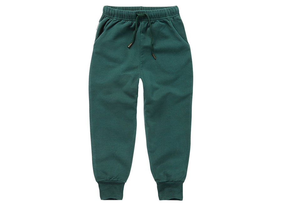 Mingo Sweat Pants Dark Emerald Sweat brushed