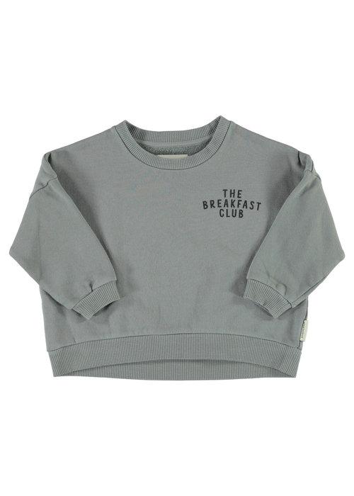 PiuPiuChick PiuPiuChick Unisex Sweatshirt grey w/ cereal box print