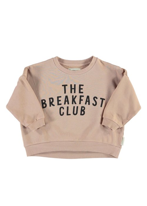 "PiuPiuChick PiuPiuChick Unisex Sweatshirt light brown w/ ""the breakfast club"" print"