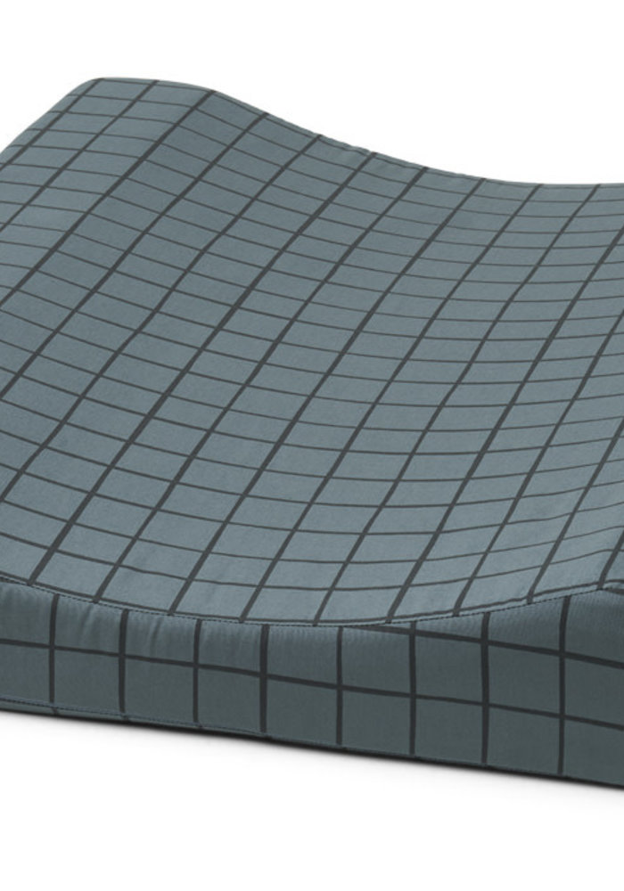 Liewood Fritz Changing Mat Check/Whale Blue