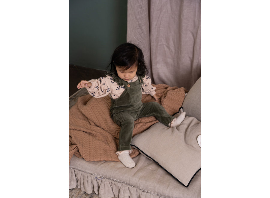 House of Jamie Balloon Sweater Oatmeal Forest