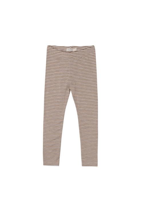 Phil&Phae Phil&Phae Leggings Stripes Chestnut