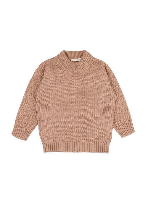 Phil&Phae Phil&Phae Chunky Knit Sweater Dusty Nude