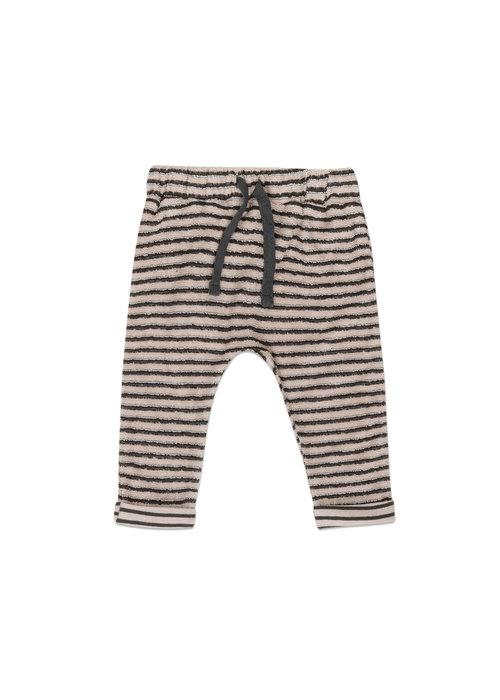 Phil&Phae Phil&Phae Baby Pants Loopy Stripes Graphite