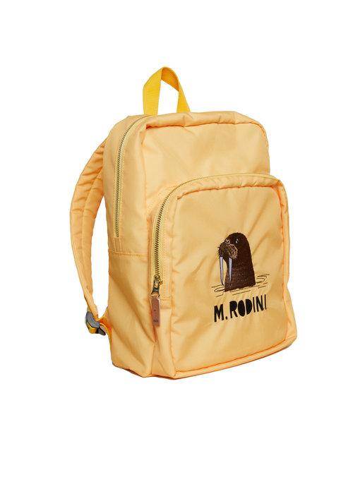 Mini Rodini Mini Rodini Walrus Backpack Yellow