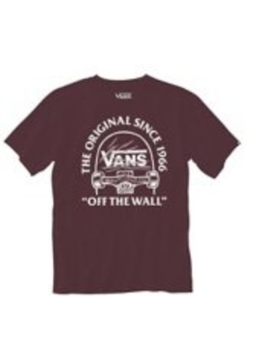 VANS Vans Tee Original Grind SS Boys Pomegranate