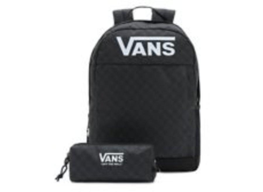 Vans Skool Backpack and Pencil Case Black