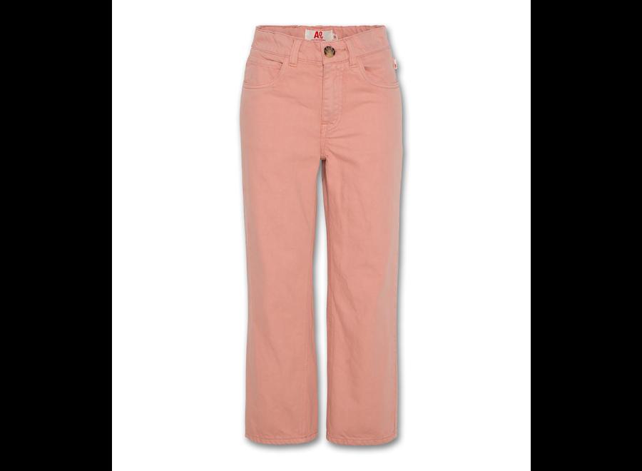 AO76 Flora Colour Pants Dusty Pink