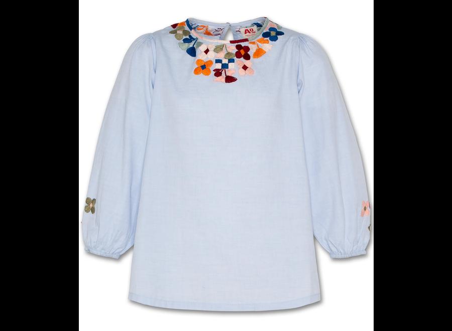 AO76 Wide Oxford Shirt Offwhite