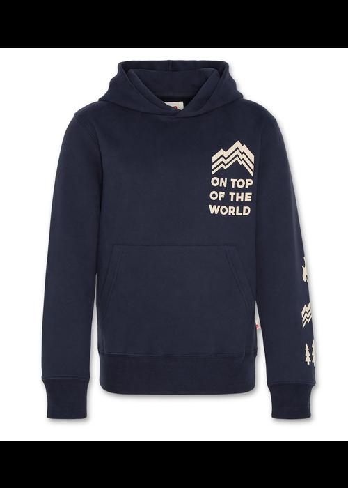 AO76 AO76 Hoodie Sweater Top Night Blue