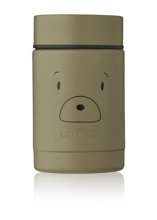 Liewood Liewood Nadja Food Jar Mr Bear Khaki