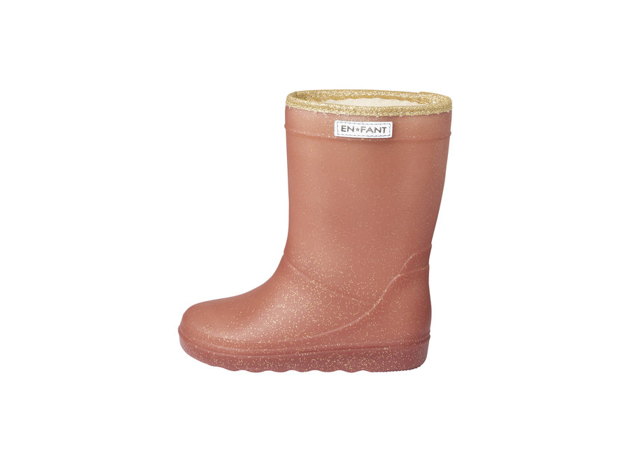 Enfant Thermoboots Glitter Metallic Rose