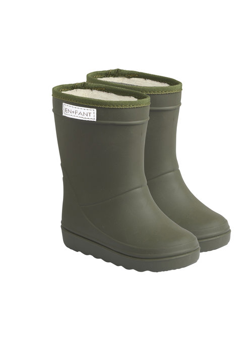 Enfant Enfant Thermoboots Solid Dusty Olive