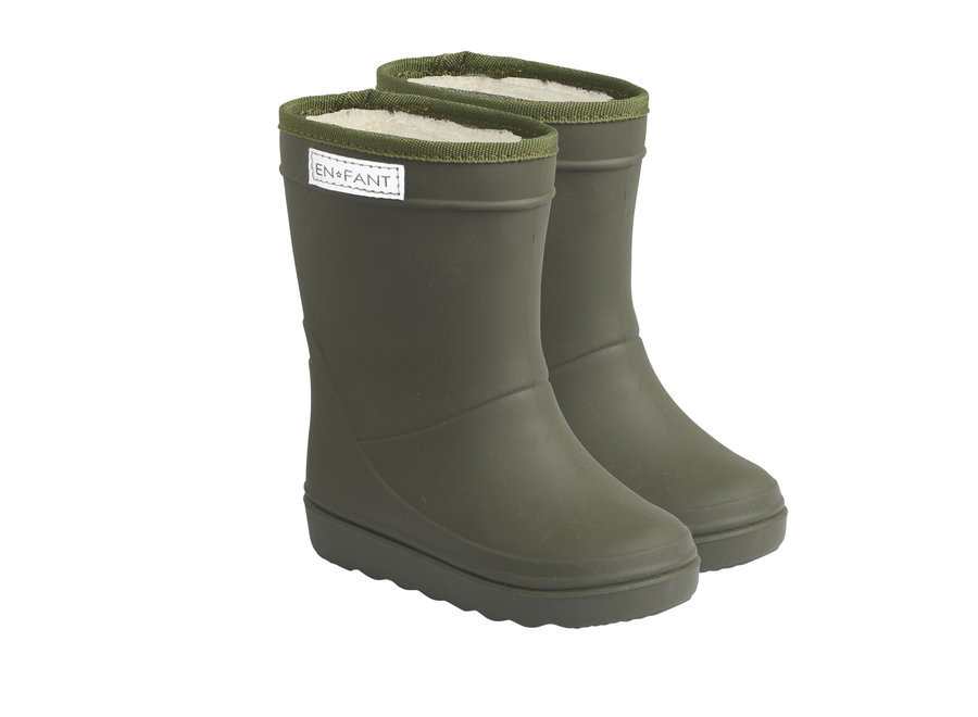 Enfant Thermoboots Solid Dusty Olive