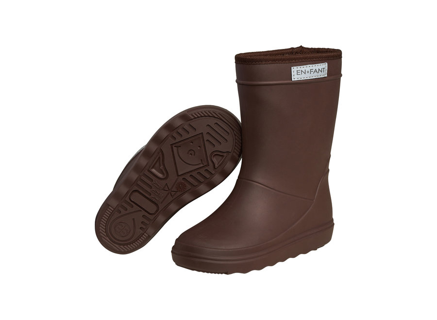 Enfant Thermoboots Solid Dark Brown