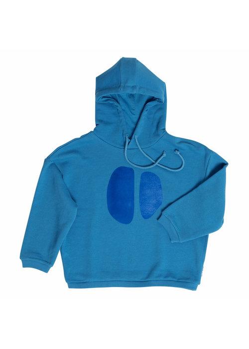 Maed for Mini Maed for Mini Teal Tapir Sweatshirt Hoodie