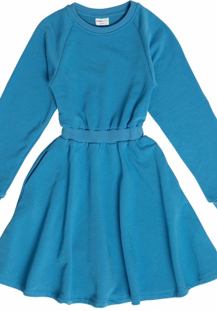 Maed for Mini Flamboyant Falcon Fleece Dress