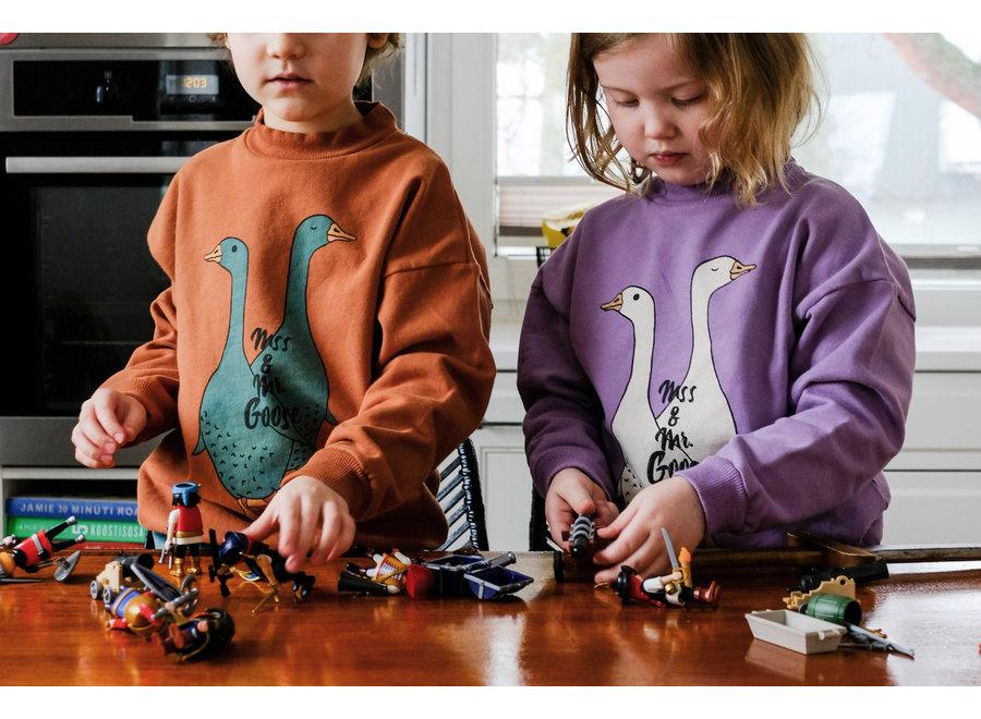Lötiekids Sweatshirt Mss. & Mr. Goose Lilac