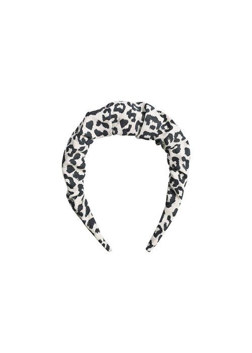 The New Society The New Society Head Band Leopard Print