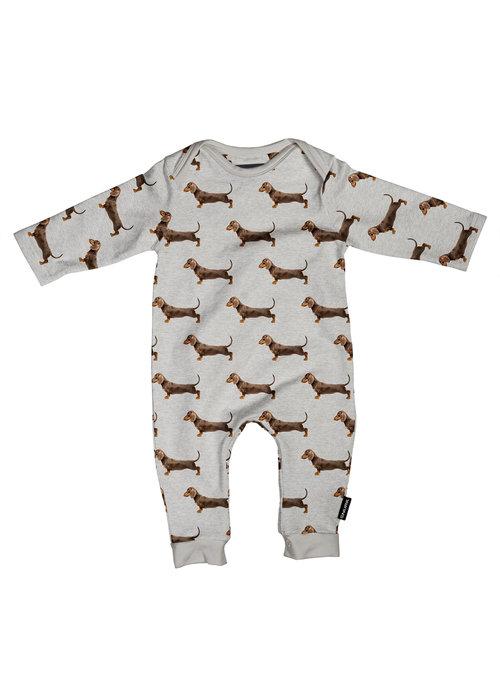 SNURK SNURK James Grey Jumpsuit Babies