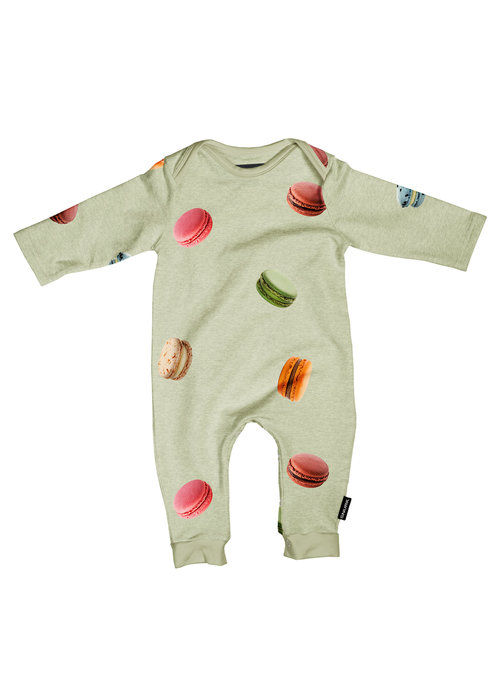 SNURK SNURK Macarons Green Jumpsuit Babies