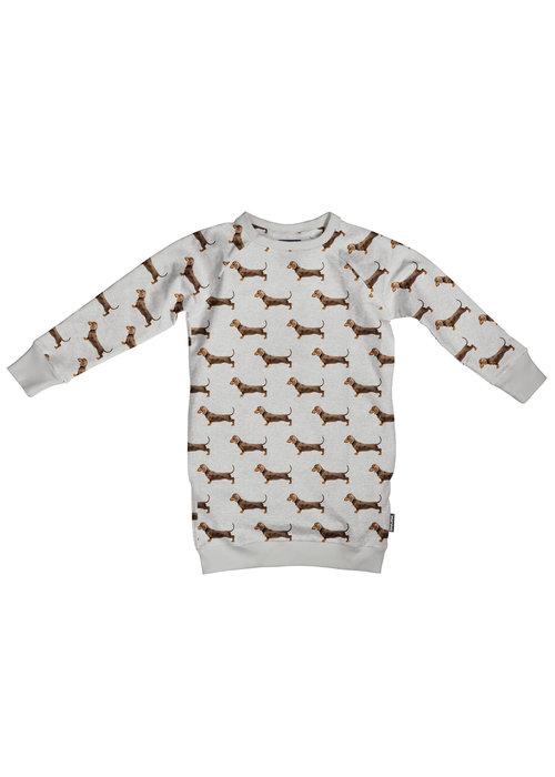 SNURK SNURK James Grey Sweater Dress Kids