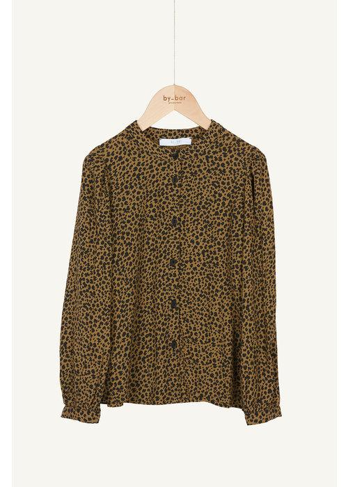 BY-BAR BY-BAR Rikki Leopard Blouse