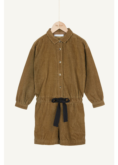 BY-BAR BY-BAR Rib Cord Suit Dry Khaki