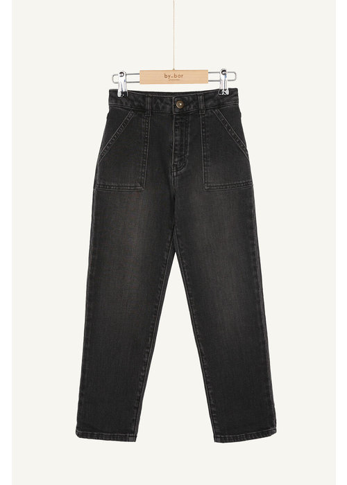 BY-BAR BY-BAR Smiley Pant Jet Black
