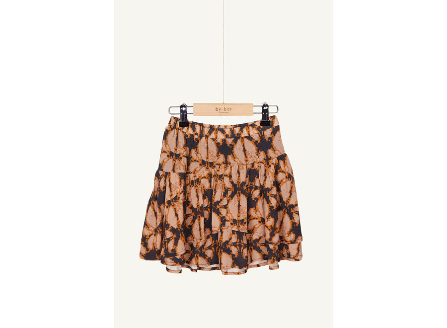 BY-BAR Elena Batik Skirt Batik Print