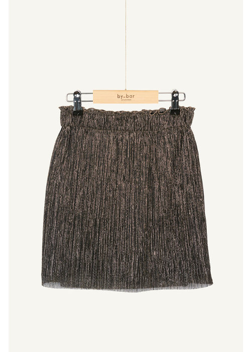 BY-BAR BY-BAR Sparkle Skirt Gold