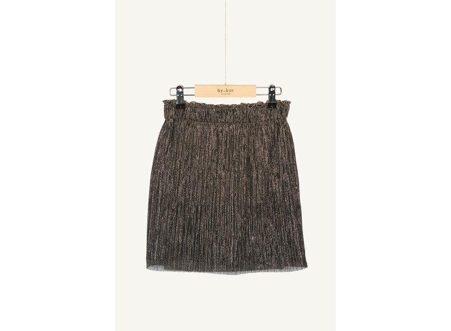 BY-BAR Sparkle Skirt Gold