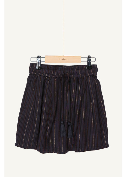 BY-BAR BY-BAR Palino Sparkle Skirt Midnight