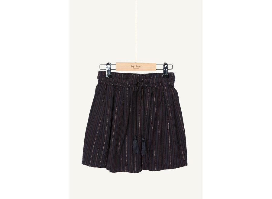 BY-BAR Palino Sparkle Skirt Midnight