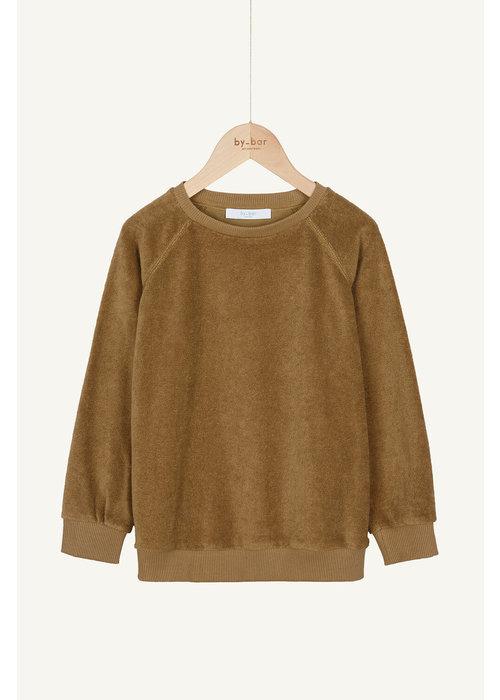 BY-BAR BY-BAR Teddy Slub Sweater Dry Khaki