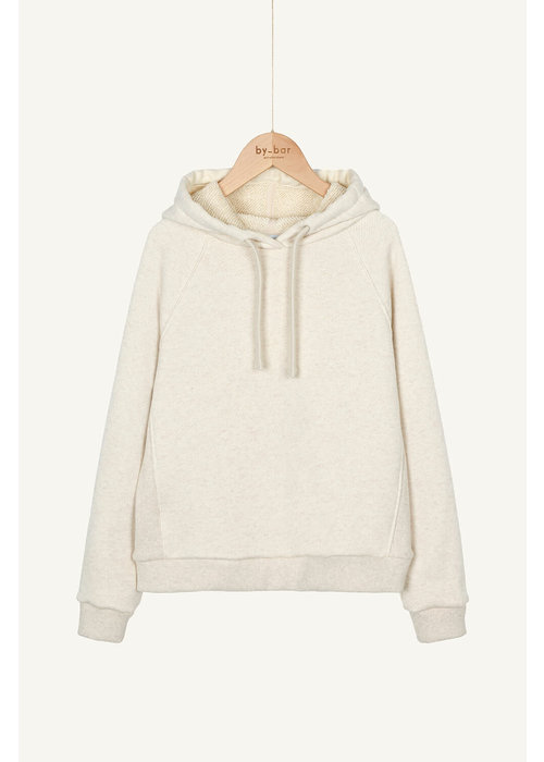BY-BAR BY-BAR Hooded Sweater Oyster Melee