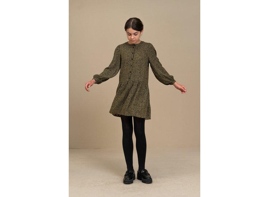 BY-BAR Nouk Leopard Dress