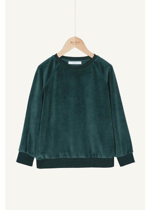 BY-BAR BY-BAR Teddy Velvet Sweater Green