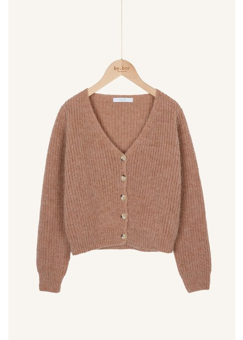 BY-BAR BY-BAR Quinty Cardigan Old Pink