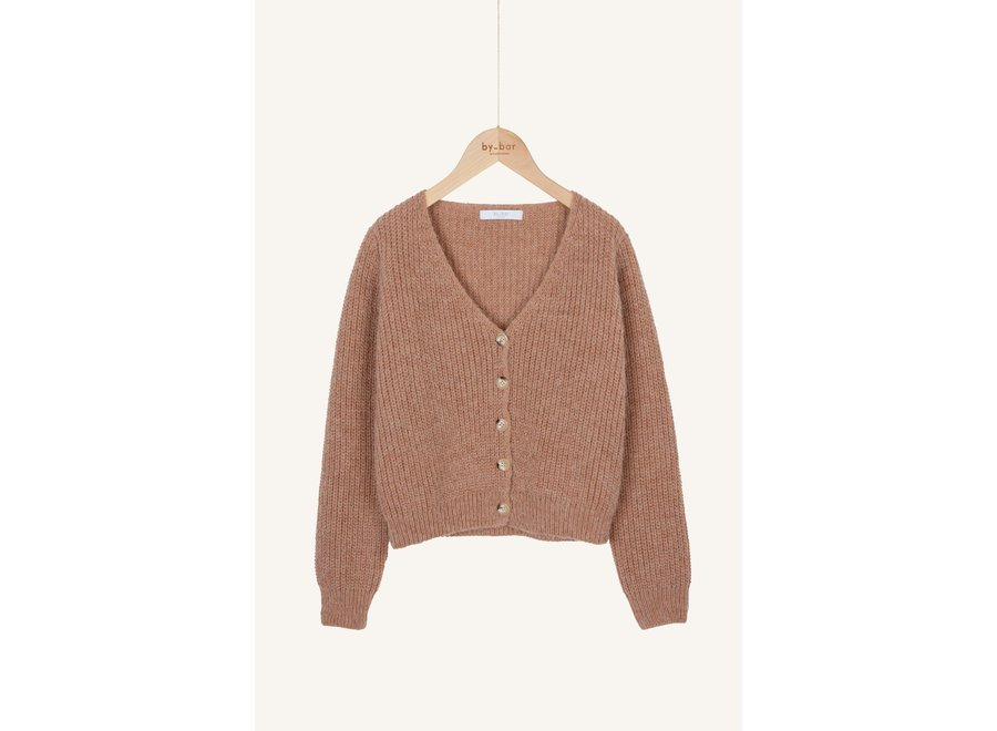 BY-BAR Quinty Cardigan Old Pink
