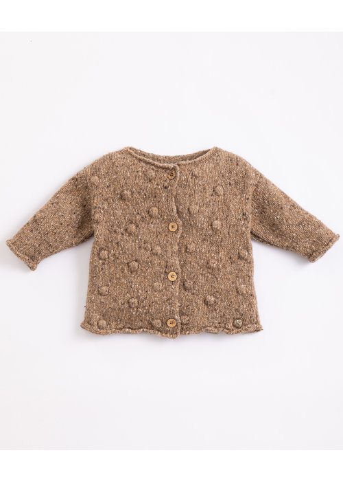 Play Up Play Up Knitted Cardigan Paper