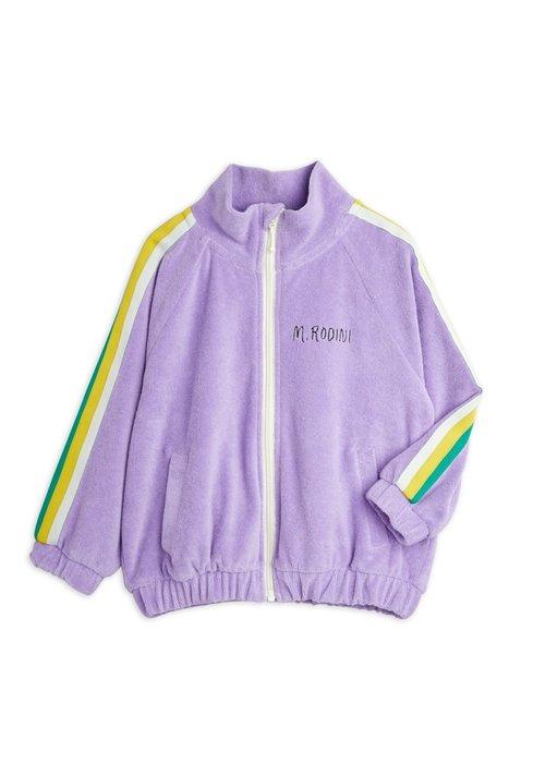 Mini Rodini Mini Rodini Terry jacket Purple