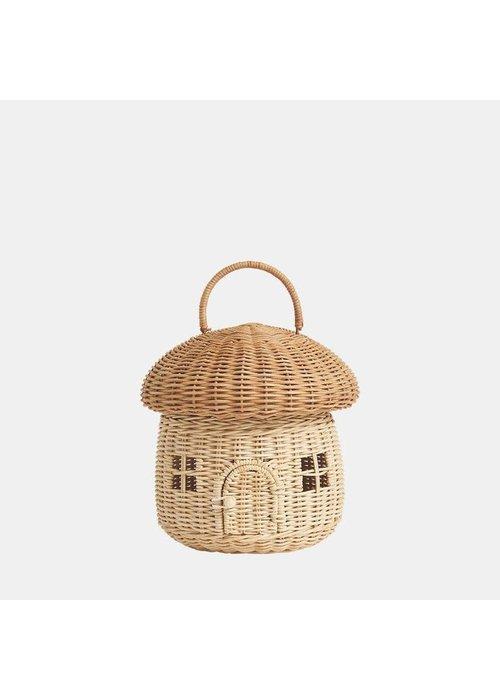 Olli Ella Olli Ella Rattan Mushroom Basket