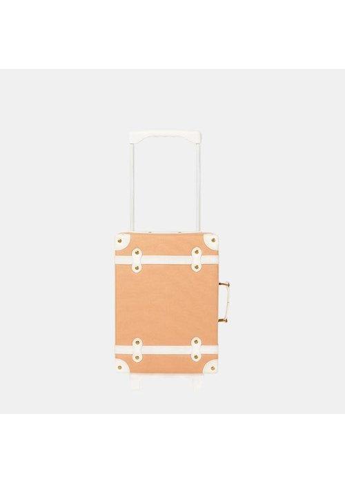 Olli Ella Olli Ella See-Ya Suitcase Blush