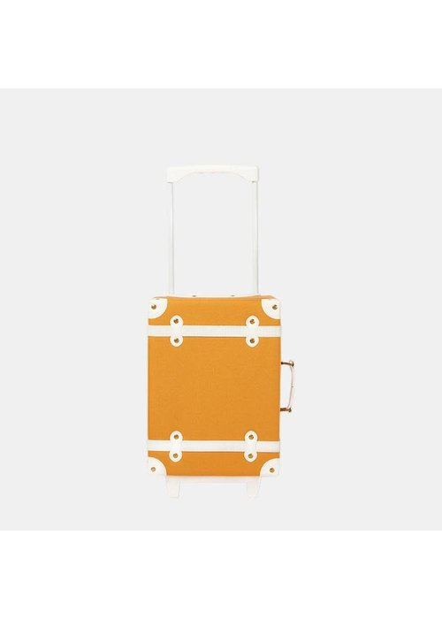 Olli Ella Olli Ella See-Ya Suitcase Apricot