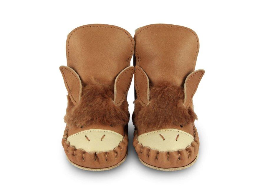 Donsje Kapi Exclusive Lining Donkey Nutmeg Leather