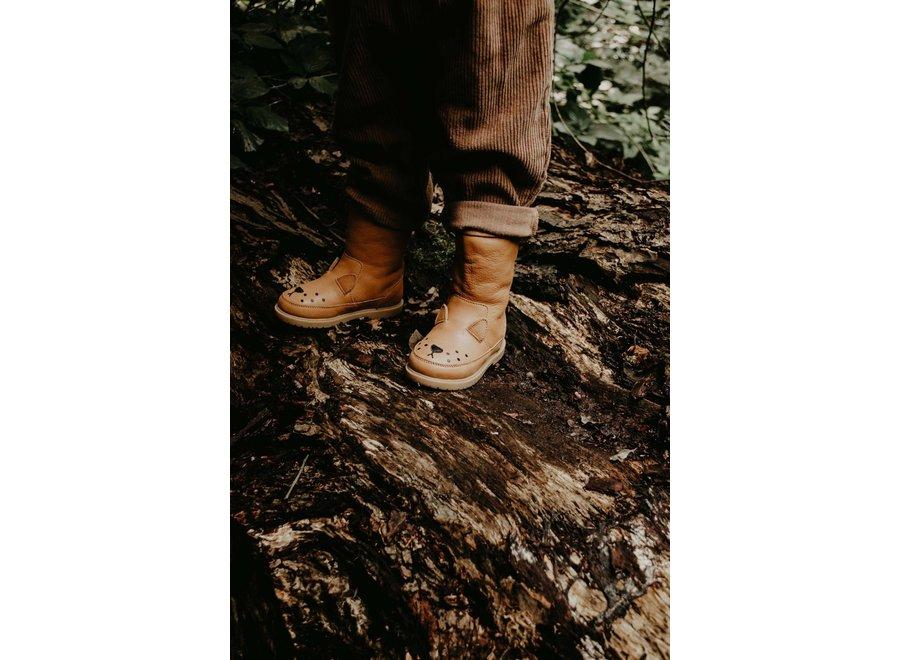 Donsje Wadudu Classic Lining Lion Caramel Leather