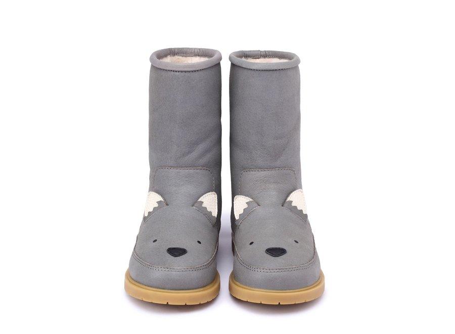 Donsje Wadudu Special Lining Wolf Mist Leather