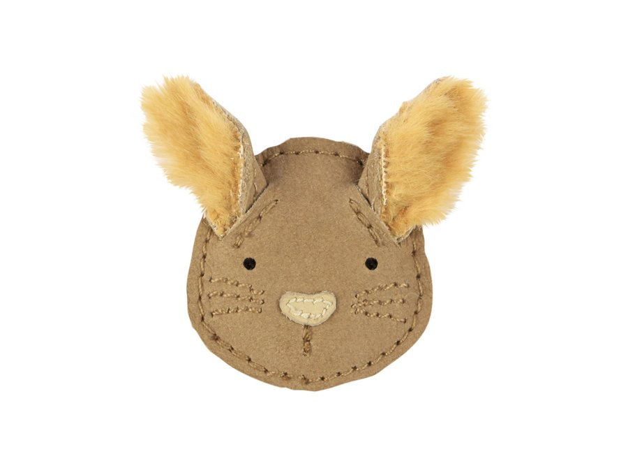 Donsje Josy Exclusive Hairclip Squirrel Truffle Nubuck
