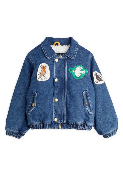 Mini Rodini Mini Rodini Denim patch jacket Blue